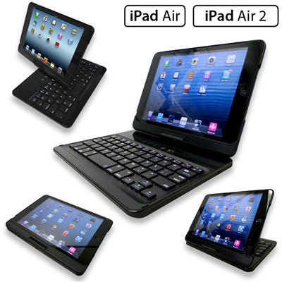 iPad Air 1, Air 2, iPad 2017, Pro 9.7 Flip Turn Case