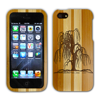 iPhone 4 Bamboo Case with Engraving